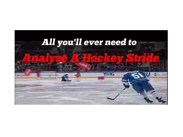 Analyze A Hockey Stride