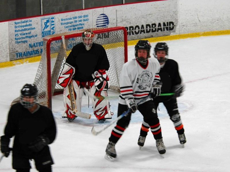 A Hockey Defenseman's First Pass