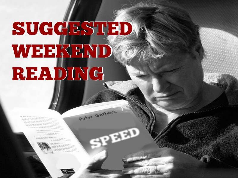 My Weekend Hockey Reading List